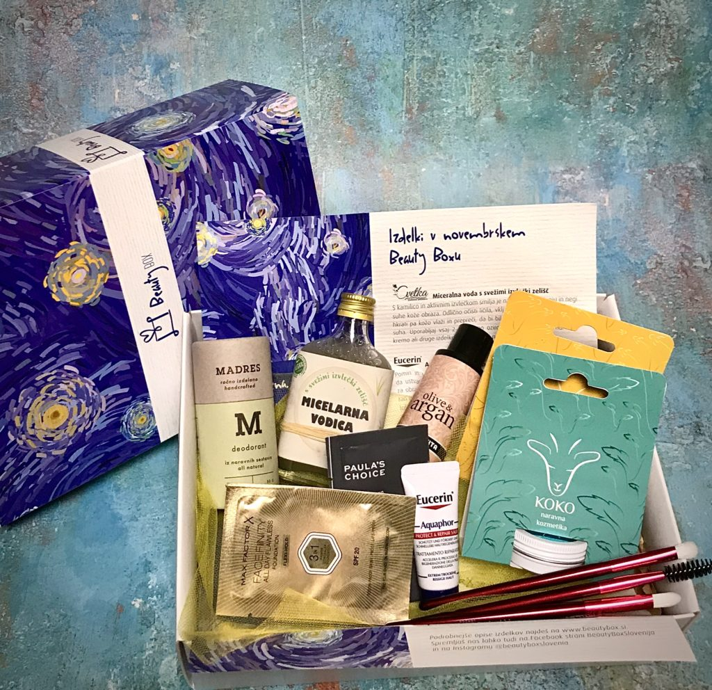 Novembrski Beauty Box