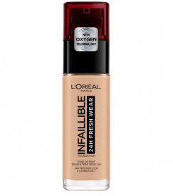 L´Oréal Infallible 24H Fresh Wear tekoči puder